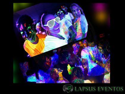 Miniteca de neon - Glow Party