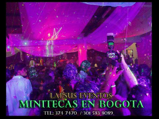 Minitecas Bogota