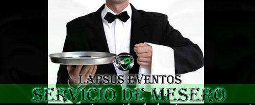 Servicio de Mesero en Bogota
