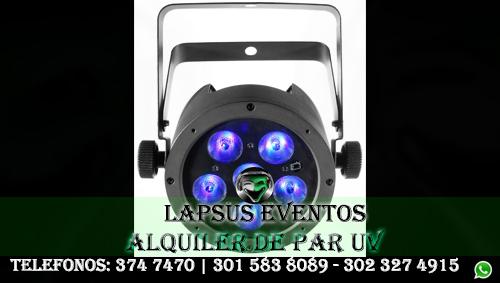 Alquiler de Luz UV en Bogota