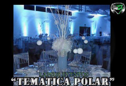 centro de mesa polar