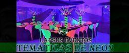 Tematica de Neon o Glow Party