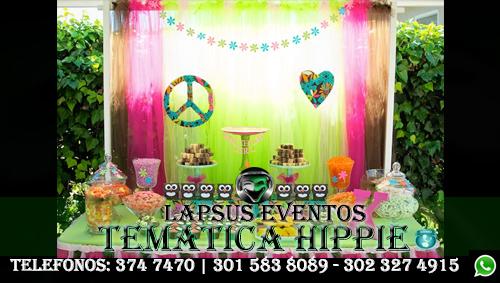 Venta de accesorios hippie lapsus eventos tel 374 7470 - Fiestas hippies decoracion ...