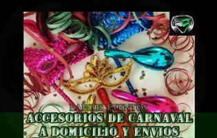 Venta de Accesorios de Carnaval