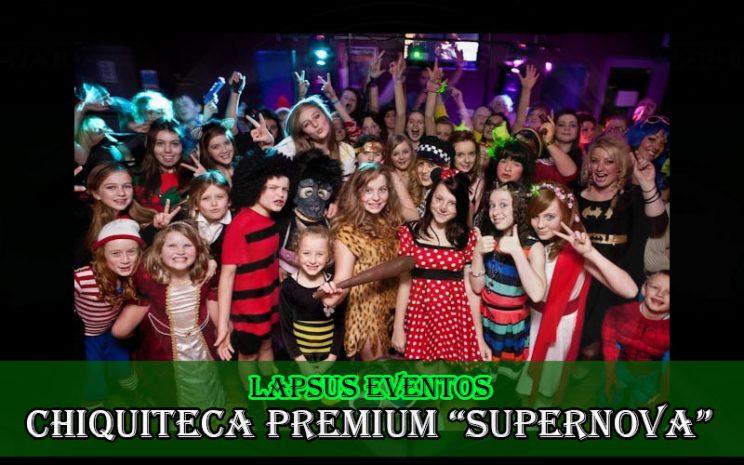 chiquiteca premium supernova en chia tipo concierto