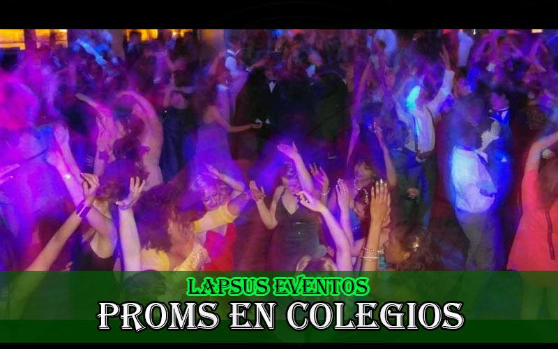 Organizar y Celebrar Proms y graduaciones Bogota