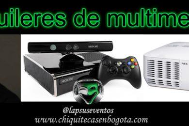 Alquileres Multimedia en Bogota