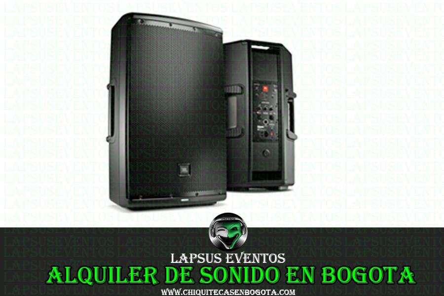 Alquiler de sonido economico en Bogota