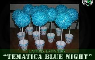 centro-de-mesa-azul-lapsus-eventos-bogota