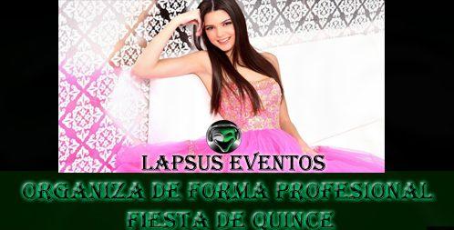 Organiza de forma Profesional Fiesta de Quince