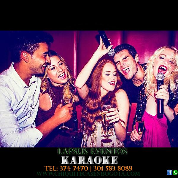 karaoke en bogota miniteca viejoteca chiquiteca