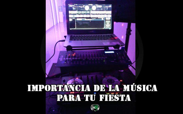 Importancia de la música para tu fiesta