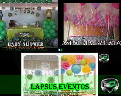 Propuestas de Decoración personalizadas para Baby Shower