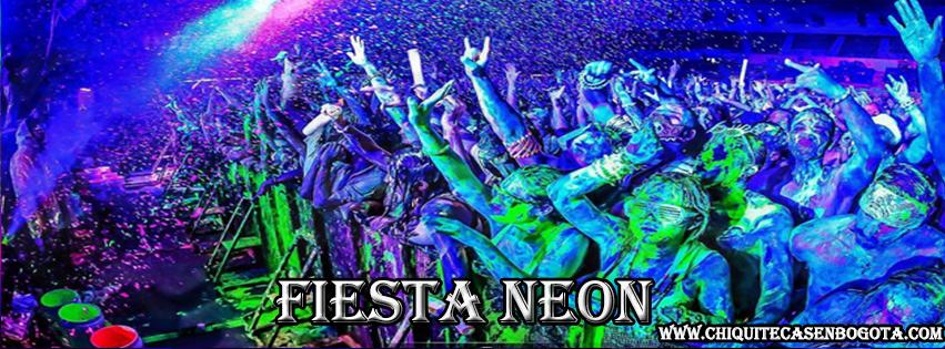 fiesta Neon para quinceaños