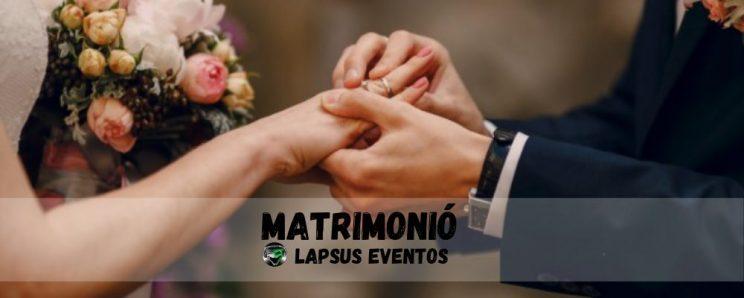 Matrimonio boda